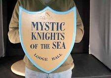 "Amos n and Andy Show SIGN  ""Mystic Knights of the Sea"" Lodge Hall SIGN"
