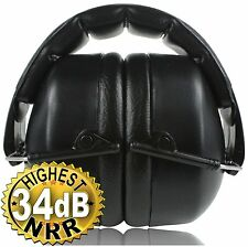 ClearArmor 141001 Safety Ear Muffs Shooters Hearing Protection Folding-Padded