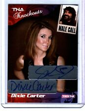 TNA Mick Foley & Dixie Carter 2009 Knockouts Male Call Dual Autograph Card