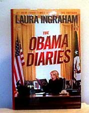 THE OBAMA DIARIES Ingraham 2010 SIGNED FIRST EDITION 1st Pr HCDJ Political Humor