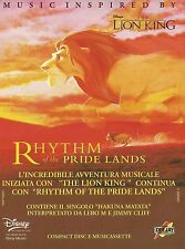 X2733 Music inspired by The Lion King - Disney - Pubblicità 1995 - Advertising