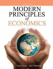 LIKE NEW MODERN PRINCIPLES of ECONOMICS by Tyler Cowen-Alex Tabarrok 2nd EDITION