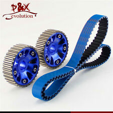 Timing Belt +Cam Gear Pulley for Honda B18C Integra GSR 94-01 /Type-R 97-01 Blue