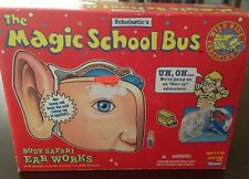 Magic School Bus Kenner Body Safari Ear Works toy VINTAGE Scholastic Educational