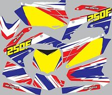 Graphic Kit for 2004-2009 Honda CRF 250 CRF250 shrouds fender plastic decals