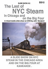 SS12 THE LAST OF NYC STEAM in Chicago - A Railroad Slide Show on DVD