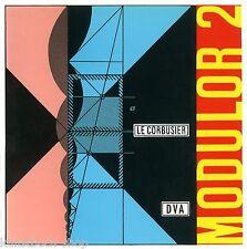 Fachbuch Le Corbusier – Modulor 2, Architekturgeschichte, Maßlehre, NEU, WICHTIG