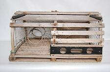 Lobster Trap Authentic Wooden Full Sized Round Top Vintage Maritime Weathered