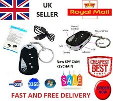 NUOVO 2015 SPY CAM PORTACHIAVI VIDEO CAMERA MINI DVR Auto FOB NASCOSTA OCCULTA fino a 32GB