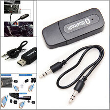 Bluetooth Wireless 3.5mm Aux IN Audio Stereo Music Receiver Adapter A2DP US