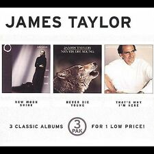 New Moon Shine/Never Die Young/That's Why I'm Here [Box] by James Taylor...