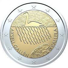 2 Euro Gedenkmünze Finnland 2015 - Akseli Gallen Kallela  Unz