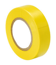 YELLOW PVC Electrical Insulation Tape 20Mx 19mm x0.15mm