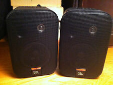 JBL Control 1Xtreme Bookshelf Studio Monitors Speakers Great Condition!