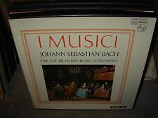 I MUSICI / BACH six branderburg concertos ( classical ) 2lp box - philips