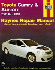 Toyota Camry & Aurion 2006 - 2013 ACV40R & ASV50R, GSV40R & GSV50R Haynes Manual
