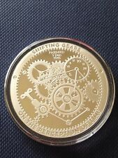 T.I.M.E. Series ~ Shifting Gears ~ 1 oz .999 Silver Proof-Like Bullion Round