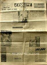 Journal l'Equipe n°735 - 1948- - Resultat complet des J O par disicpline -