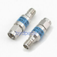 SMA female jack to male RF Stainless steel Coaxial Attenuator 10dB 50ohm DC 6GHz