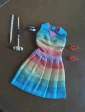 #1619  BARBIE FUN N' GAMES OUTFIT WITH ACCESSORIES VERY NICE !!!