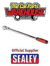 "Sealey Ratchet Wrench 18"" Flexi-Head Extra-Long 455mm 3/8""Sq Drive AK6697"