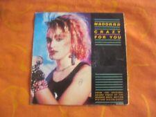 MADONNA / CRAZY FOR YOU / 45 tours