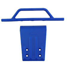 RPM Blue Front Bumper & Skid Plate For Traxxas Slash RPM80955
