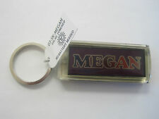 "MEGAN Key Chain Solar 2.5""x1  Blinks NOS"