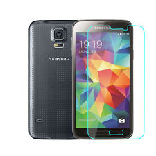 Genuine Clear Tempered Glass Screen Protector Film Guard for Samsung Galaxy S5