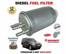 FOR HYUNDAI TERRACAN 2.9DT CRDI J3 ENGINE 2003-2007 NEW DIESEL FUEL FILTER