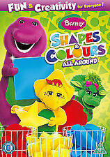 Barney - Shapes And Colours All Round (DVD, 2011)