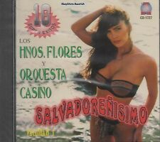 Los Hermanos Flores y Orquesta Casino Salvadorenisimo Vol 1 CD New Sealed