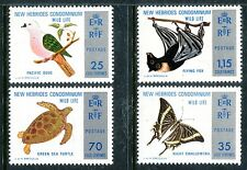 Br. New Hebrides 183-6 MNH Bird:Pacific Imperial Pigeon Wild life 1974  x16316