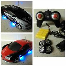 Bugatti Veyron Style RC Car Electric Rechargeable Drift RC Car 4WD  1/24