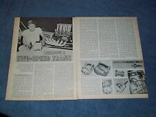 Vintage How To Tech Info Article on Building A Two-Speed Manual Trans