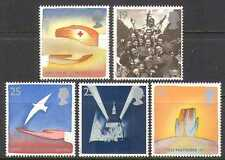GB 1995 Red Cross/Peace/Freedom/UN/WWII 5v set (n22540)