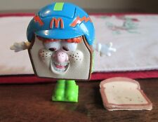 McDonalds HAPPY MEAL OTIS Transfoming 1992 FOOD FUNDAMENTAL Sandwich w/ PAPER