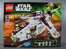 Free Shipping New Factory Sealed Lego - Star Wars 75021  Republic Gunship