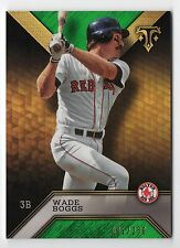 ET 2016 Topps Triple Threads Emerald #31 Wade Boggs 002/250 RED SOX
