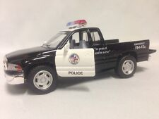 """Dodge Ram 1500 Police Pickup Truck 5"""" Diccast, Pull Back to Go Toy Boys Girl"""