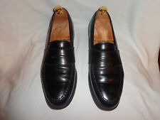 Brooks Brothers shell cordovan penny loafers 9.5 D Made in England