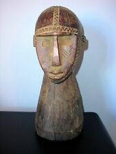 Large Dogon Head, Wood.  From Mali