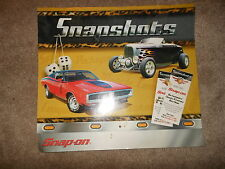 Vintage 2002 Snap-On Snapshots Classics & Customs Calendar Chevy Ford Plymouth +
