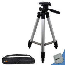 Durable Pro Series 60 inch Tripod for Nikon Coolpix P100, P90, P80, S10 Cameras