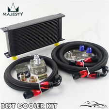 19 ROW OIL COOLER KIT FOR NISSAN Silvia S13 S14 S15 180SX 200SX 240SX SR20DET BK
