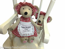 Personalizado Mouse-Rag Doll-Powell Craft