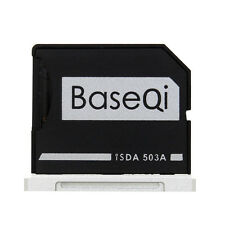 Original BASEQI Aluminum Micro SD Card Adapter For Macbook Pro Retina 15'' 503A