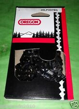 "2 Pack Oregon 20LPX078G Saw Chain H23X-78 501840878 20"" .325 .050"