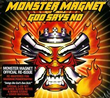 MONSTER MAGNET GOD SAYS NO DOPPIO CD DIGIPACK NUOVO SIGILLATO !!