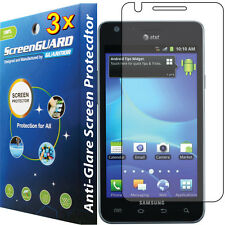 3x Anti-Glare LCD Screen Protector Guard Film ATT Samsung Galaxy S 2 II S2 i777